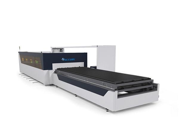 4mm karbono altzairuzko hodi hodi xafla cnc zuntz laser ebaketa makina raytools