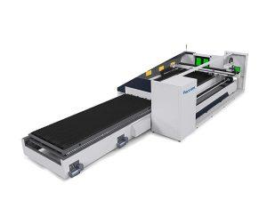 6000mm metalezko hodi laser ebaketa makina zehaztasun handiko fokatze automatikoa