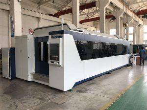 profesionala cnc zuntz laser ebaketa makina 1000w 1500w truke mahaiarekin