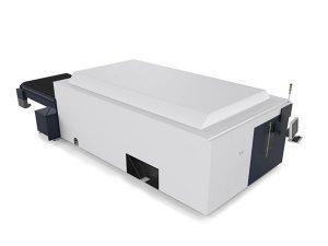 metalezko xafla / hodiak laser bidezko ebaketa motorra motor bikoitzeko muturreko cnc sistema