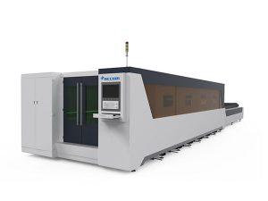 metal prozesatzeko laser bidezko ebaketa makina osoa estalitako 1000w motakoa