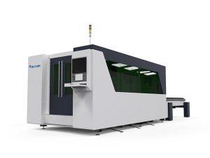 mahai bikoitza cnc laser metaliko ebaketa makina, laser plaka ebaketa automatikoa
