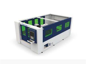 hodi eta xafla itxietarako mini 500w zuntz laser ebaketa makina
