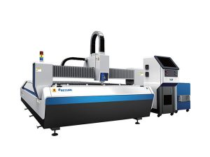 erdiko potentzia altzairu herdoilgaitza laser ebaketa makina, 1500w laser xafla ebaketa makina
