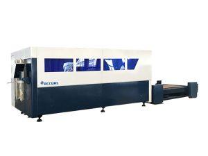 plataforma bakarreko cnc zuntz laser ebaketa makina, metalezko xafla ebakitzailea