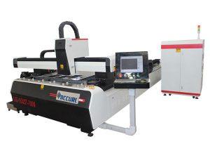 1000w 1500w laser metaliko ebakitzeko makina altzairu arinerako, 45m / min ebaketa-abiadurarako