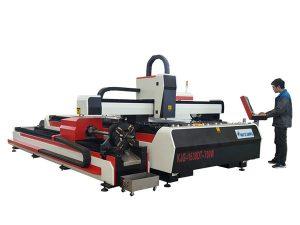 zuntz laser metaliko ebaketa makina 500w 800w 1kw 800mm / s funtzionamendu abiadura