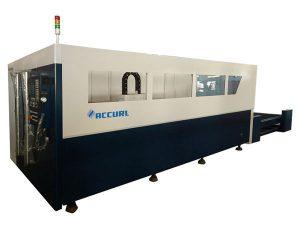 700-2000w zuntzezko metalezko laser ebaketa makina ur hoztearekin