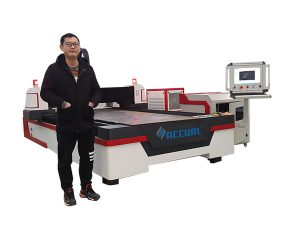 kobrezko / titaniorako gida lineala cnc laser hodien ebaketa makina