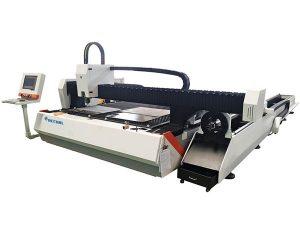 hodi metalezko zuntz laser ebaketa makina 1500w abiadura erregulagarria elikatze automatikoa